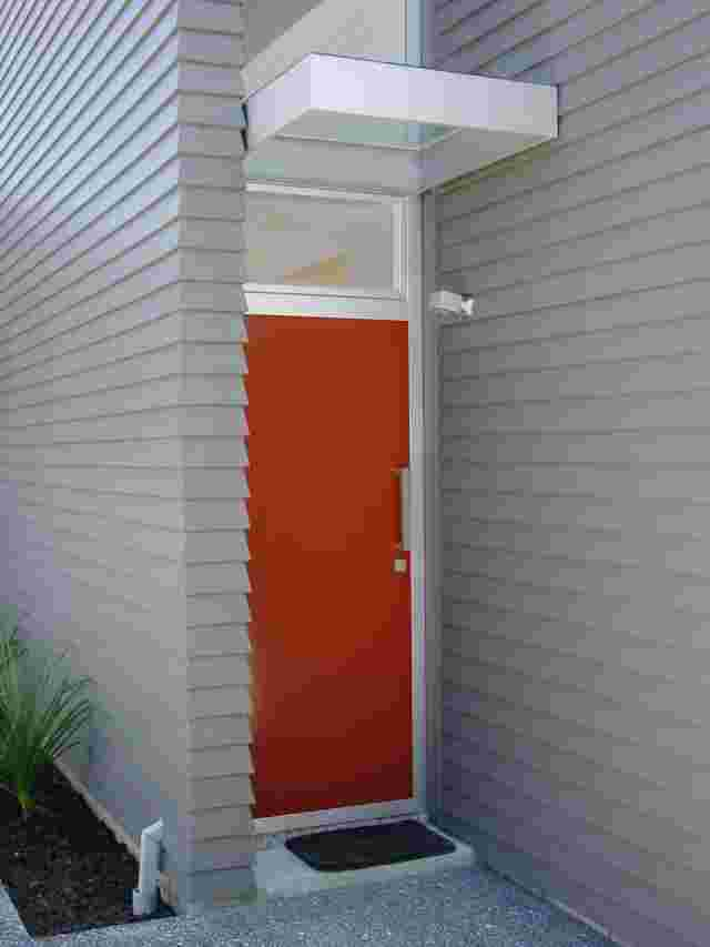 Fixed Frame Awnings - Contemporary Box over single entrance door with Glass top copy.jpg