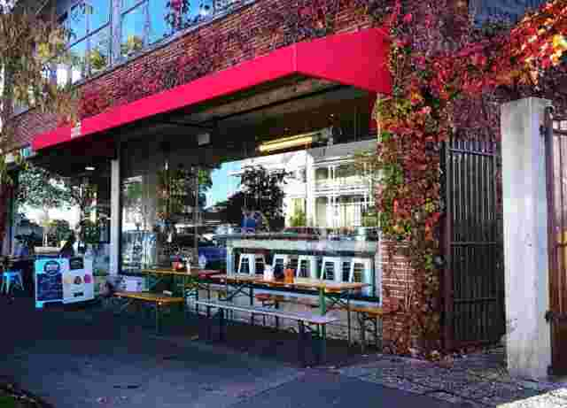 Fixed Frame Awnings - Fixed Frame awning on Ivy clad building at Ponsonby CentralFoxtrot  copy.jpg