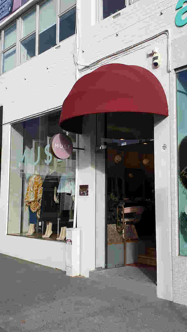 Fixed Frame Awnings - Eyelid Style Awning with Acrylic canvas at Muse Newmarket copy.jpg