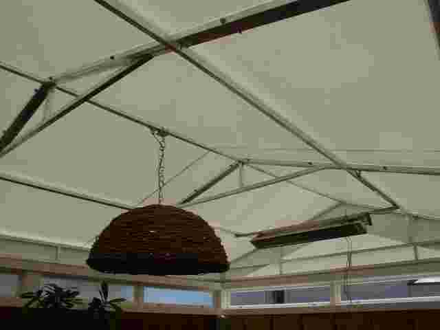 Fixed Frame Awnings - Fixed Frame gable ended awning over restaurant dining courtyard 2 copy.jpg