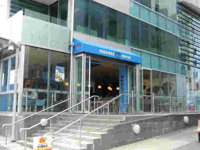 Fixed Frame Awnings - Fixed Frame Wedge awning for Esquires café copy.jpg