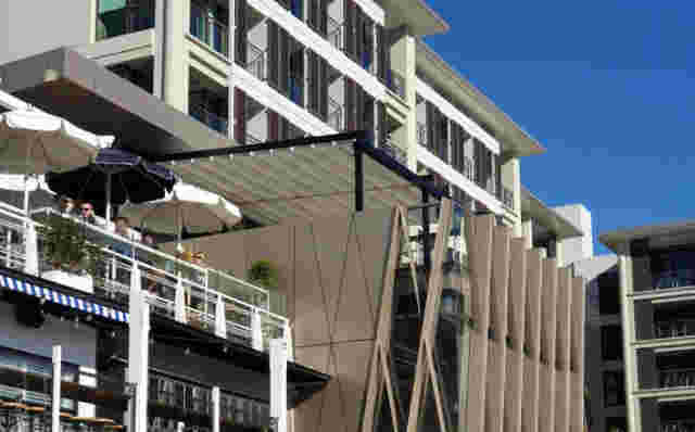 Fixed Frame Awnings - Retractable roof at Parasol & Swing Promenade view (1).jpg