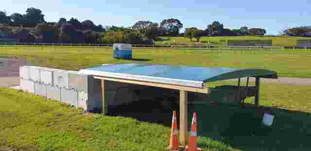 Fixed Frame Awnings - Sliding Canopy at Auckland Racing club open 4 copy.jpg