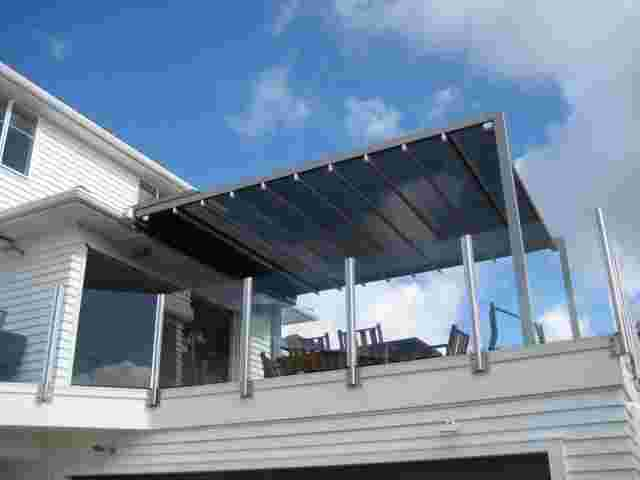 Retractable Roof - Retractable Pergola roof over upper deck area in Auckland.jpg