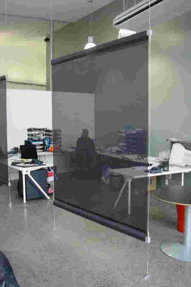 Miscellaneous Work - Wire Guided internal office screen for Architects office in Parnell 1 copy.jpg